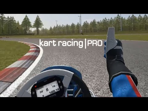 Taking A First Look At Kart Racing Pro In VR! Better Than KartKraft?