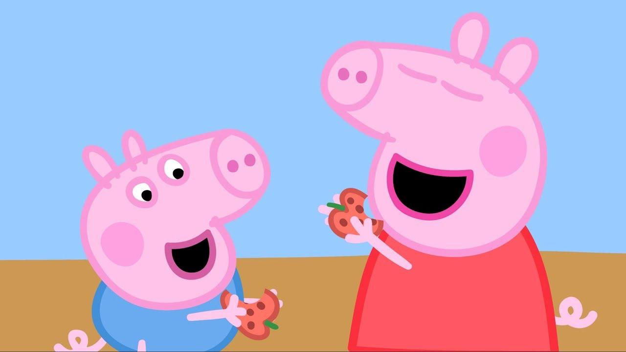 Peppa pig fran ais aliments compilation dessin anim pour enfant youtube - Dessin anime de peppa cochon ...