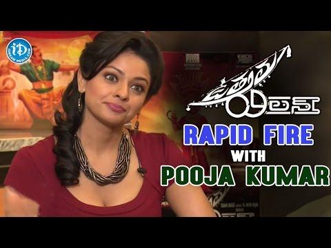 Rapid Fire with Uttama Villain Actress Pooja Kumar  Kamal Haasan  K. Balachander  Andrea