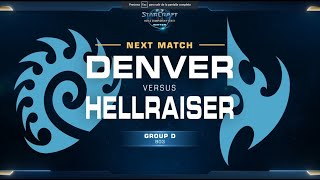 Gerald (P) Vs Hellraiser (P) Game 2 WCS WINTER [ES] - Grupo D Europa