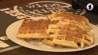 Рецепт традиционных бельгийских вафель / Утренний эфир