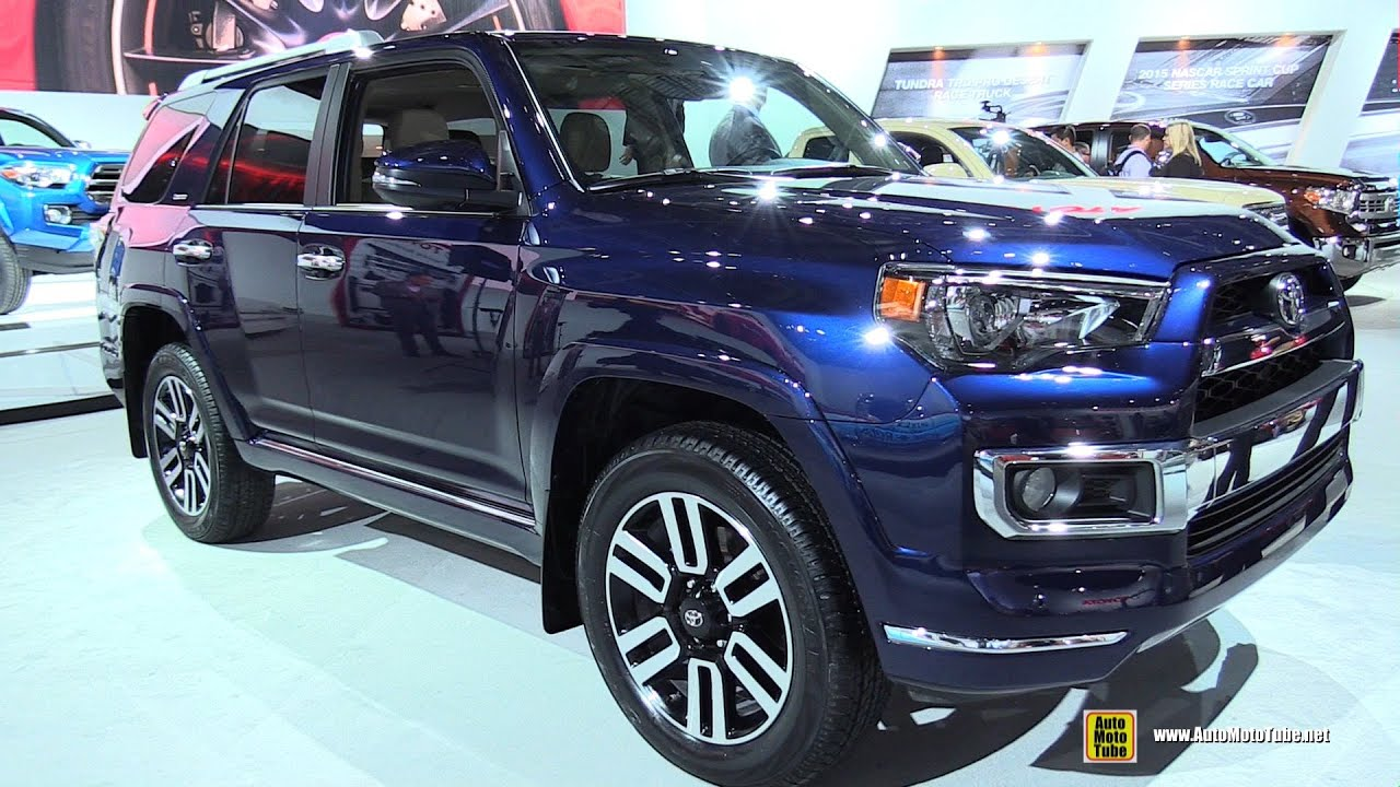 2015 toyota 4runner limited exterior walkaround 2015 detroit auto show youtube. Black Bedroom Furniture Sets. Home Design Ideas