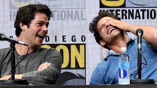 Teen Wolf Cast REVEALS What Tyler Posey & Dylan O'Brien Taught Them