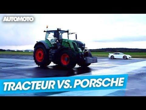 Fable : Le tracteur qui voulait défier la Porsche 911 GT3