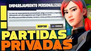 PARTIDAS PRIVADAS FORTNITE COSTA ESTE
