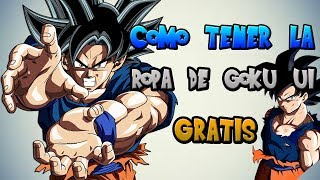 HOW TO HAVE GOKU CLOTHING ULTRA INSASIVE WITHOUT ROBUX (SPAIN) (FREE CLOTHING)