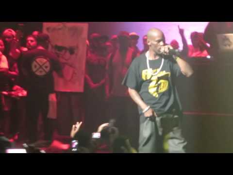 Dmx performing live at the Apollo