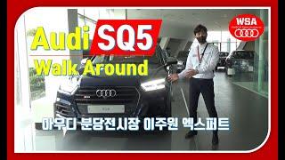 Audi SQ5 Walk Around 교육(차량 프리젠…