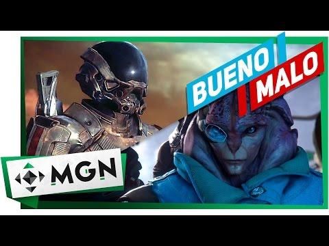 MASS EFFECT ANDROMEDA LO BUENO Y LO MALO (Reseña y análisis)   MGN