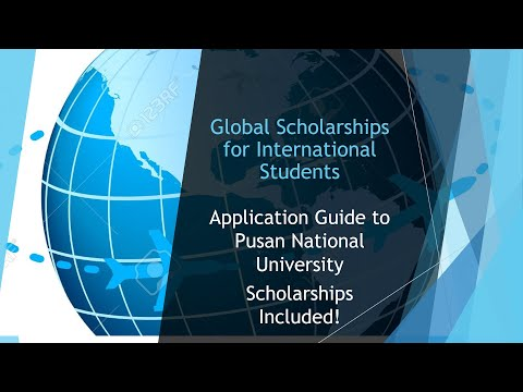 Pusan National University Admissions and Scholarships for International Students