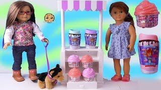 American Girl Eats NUM NOM Cupcake Surprise + Squishy Mushy Blind Bags