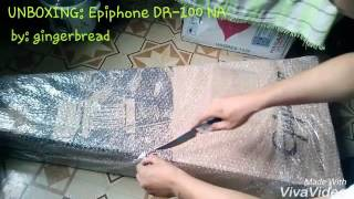 Epiphone DR-100 NA(UNBOXING)