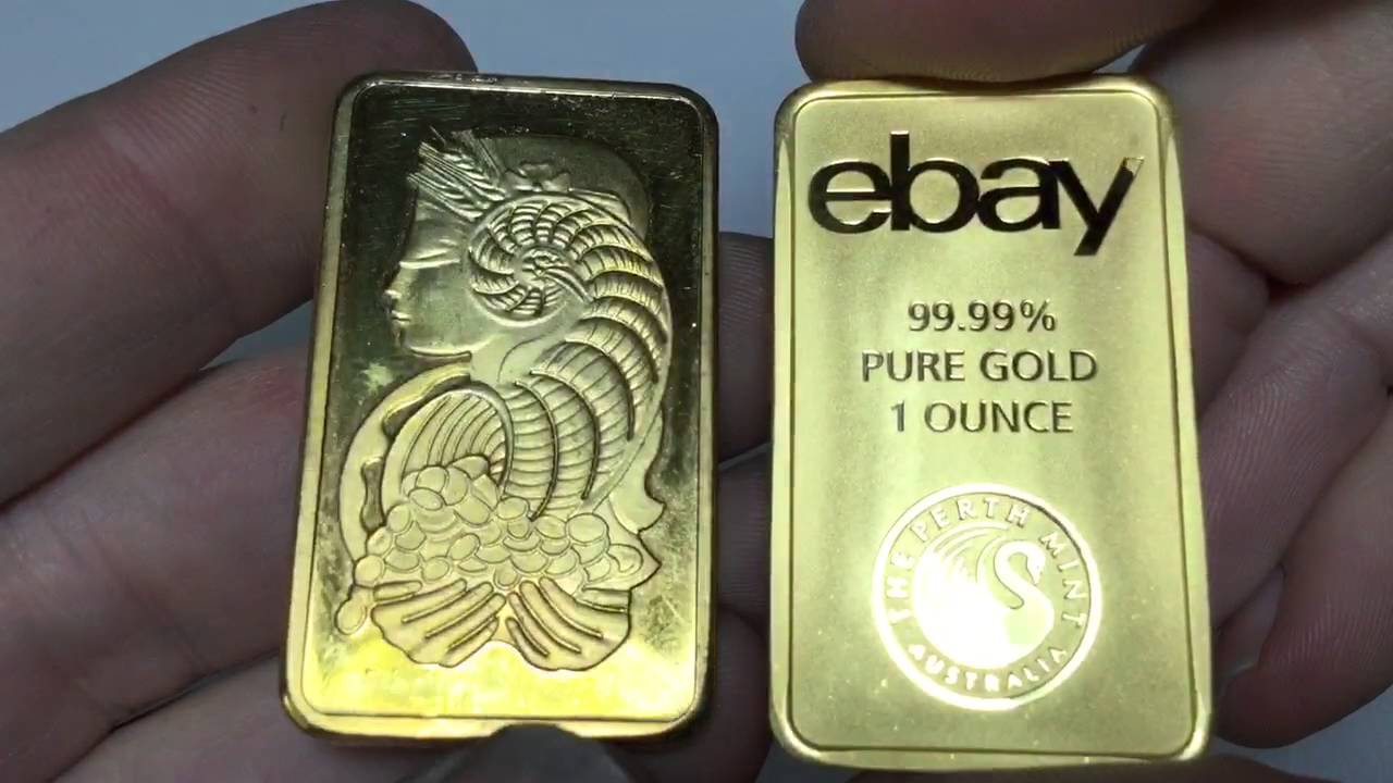 Counterfeit Pamp Suisse Gold Bar Youtube