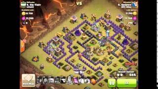 Geopee vs Sir Tinly AFC Alba Wars Clash of Clans