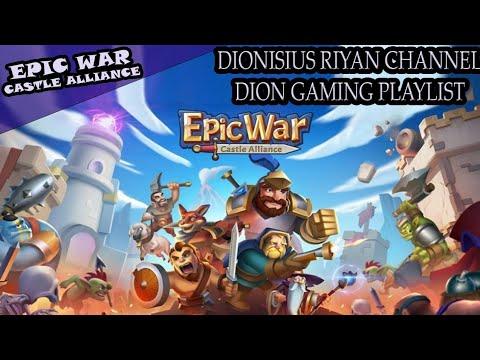 EPIC WAR : CASTLE ALLIANCE GAME STRATEGI MIRIP CLASH OF CLANS !!