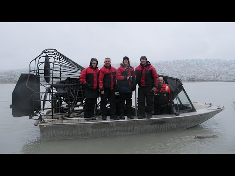 Juneau Taku Glacier Helicopter and Airboat experience 2018