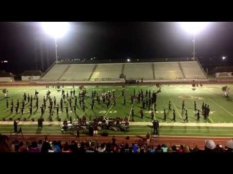 Donna High School Mighty Redskin Band: Pre-Pigskin 2015