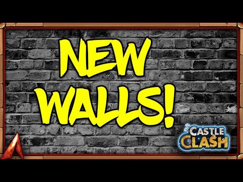 Castle Clash New Walls Revealed! New Colors!