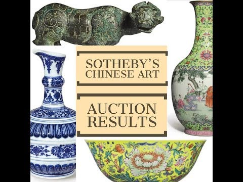SOTHEBY'S Chinese Art Auction Results & More Fakes at EDEN Galleries