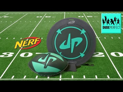 Nerf Sports Dude Perfect Perfect Smash Football from Hasbro