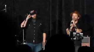SPN NJ 2016 - Jason Manns & Rob Benedict, Hallelujah