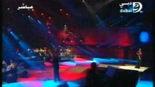 عازف الجيتار وحيد ممدوح مع الفنانه ماجده الرومي
