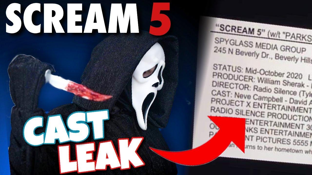 Scream 5 (2021) NEW Cast Leaked + Secret Title