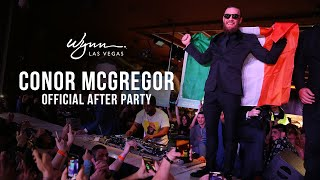 CONOR MCGREGOR officially after party at Wynn Las Vegas