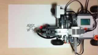 Lego Mindstorms NXT Robot - Tic Tac Toe (Χ play)