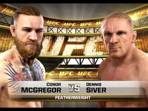 UFC-Fight Night Boston- McGregor vs Siver