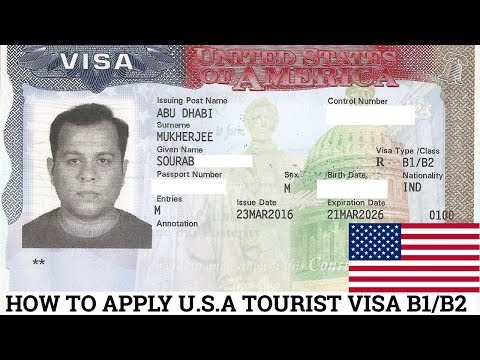 HOW TO APPLY FOR U.S.A TOURIST VISA FROM ANY COUNTRY