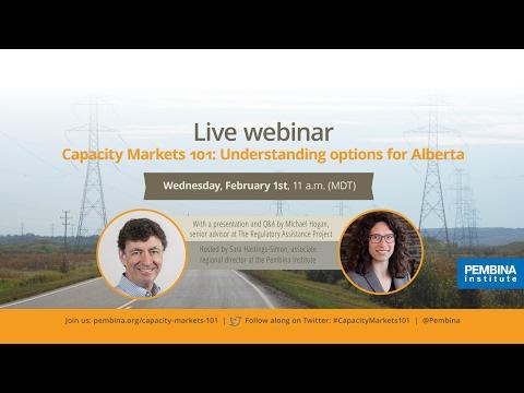 Capacity Markets 101: Understanding options for Alberta