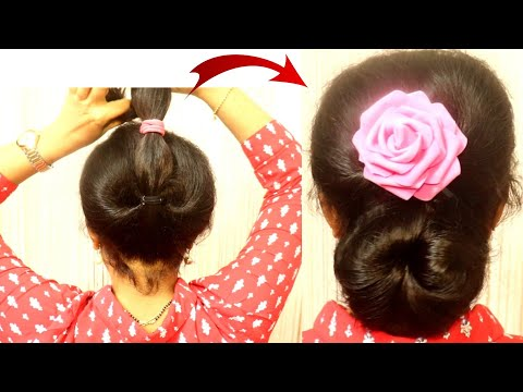 simple-juda-hairstyles-for-women-||-hair-style-girl-||-juda-hairstyle-||-easy-juda-hairstyle-||-hair