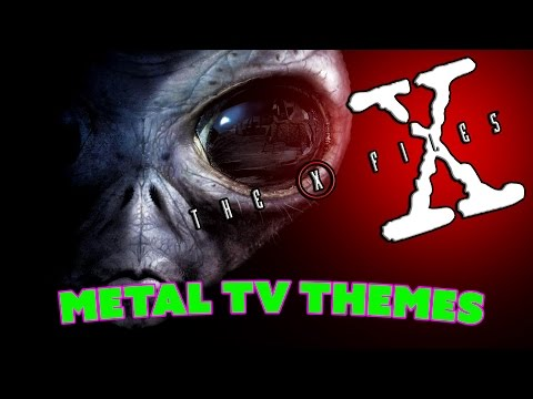 The X Files - Cover - Metal Tv Themes Ep.7 - Metal Version