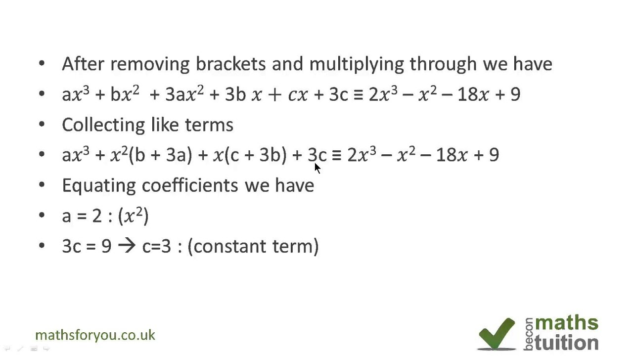 an examination of polynomials and its role in mathematics Quiz theme/title: identifying polynomial or not polynomial  description/instructions  polynomials have no variables in denominators or exponents, no roots or absolute values of variables, and all variables have whole number exponents.