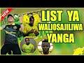 Yanga Yatangaza Majina Ya Wachezaji Wote Waliosajiliwa Baada Ya Tff Kutangaza Kufunga Usajili Leo...
