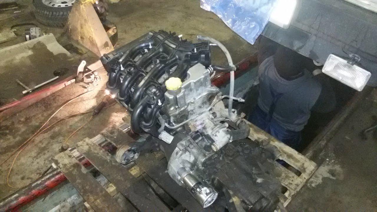 Ваз 2109. Установка 16 кл. двигателя от приоры. 1 часть