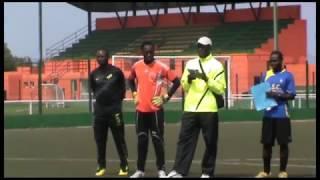 89 goalkeeper exercises VITOR VALENTE Séminaires entraineurs gardiens but Gabon 2012/2013