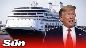 Donald Trump repatriates Brits on COVID-19 cruise ships docking in Florida after four die on board
