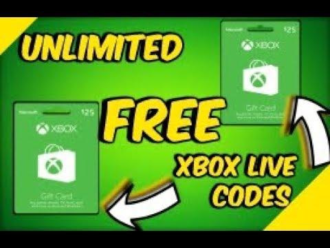 free xbox live gold codes xbox one