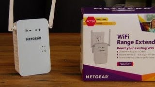 The Netgear EX6100 extends the range of your Wi-Fi network -- and not much else