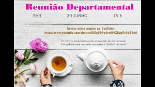 Reunião Departamental - SAF 20/06/2020 15h