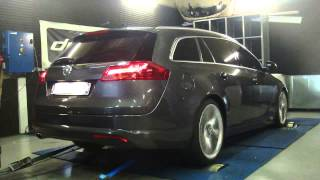 * Reprogrammation Moteur * Opel Insignia cdti 160cv @ 195cv Dyno Digiservices Paris