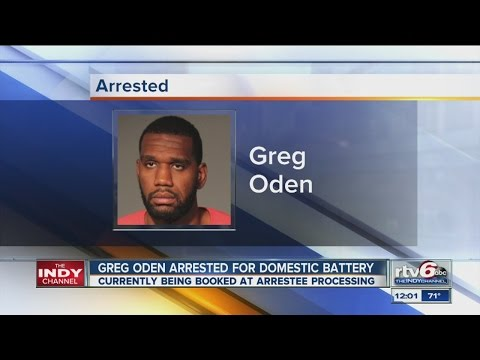 NBA player Greg Oden arrested on battery charge