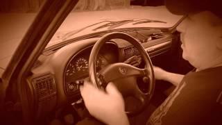 Нарезка материала уроков авто вождения на механике.