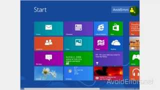 How to Change language English to Spanish Windows 8