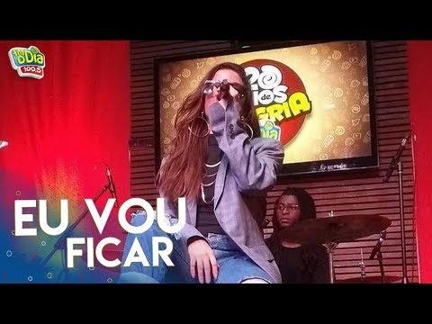 Anitta - Eu Vou Ficar  Acústico FM O Dia