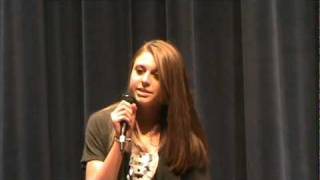 Taylor Bennett Rockvale Middle School Talent Show 2010 American Honey 2nd Show.mpg