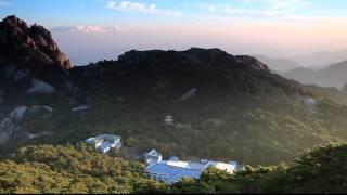 Sunset on Bright peak (Guang Ming Ding)