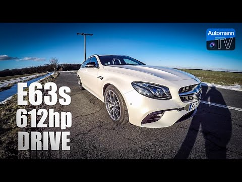 Mercedes-AMG E63s (612hp) - DRIVE & SOUND (60FPS)